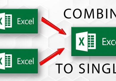 Combine Multiple Excel Sheets